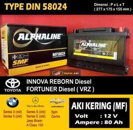 Aki Kering Toyota Innova Reborn 2.4 (Diesel)