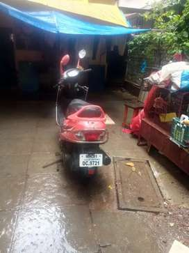 scooty tvs used 2 years