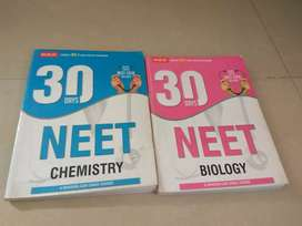 30 days mtg neet crash course of biology and chemistry