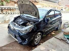 Toyota Agya 2017 Pemakaian 2018