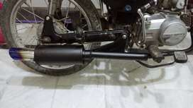 Brand new 70 muffler with excellent base