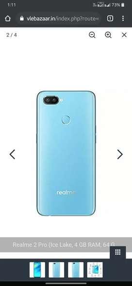 Realme 2 pro. 6gb ram 64gb internal