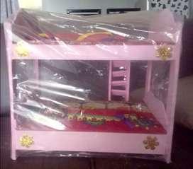 Tempat tidur barbie(baru)