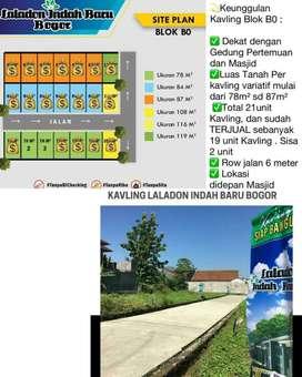 Kavling Strategis dekat stasiun Bogor