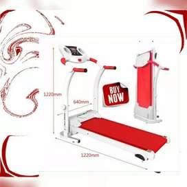 Peralatan olahraga terlengkap treadmill elektrik 1fungsi/ home gym
