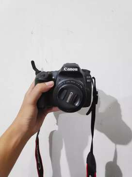 CANON 80D INCLUDE 50mm 1.8 JUST LIKE NEW (Lengkap Strap & 2 Battery)