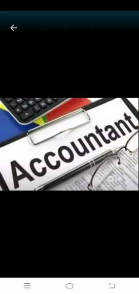 Gst Tally Account knowledge candidates required in manufacture compan