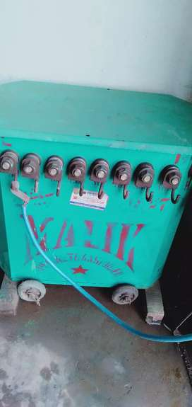 welding machine with a to z material