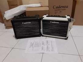 Ampli gitar elektrik/akustik elektrik cadenza 15G distorsi
