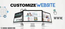 Get Your Custom Website With Custom Features