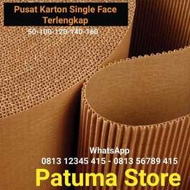 Karton Lembaran Gulungan Corrugated Karton / Single Face Roll