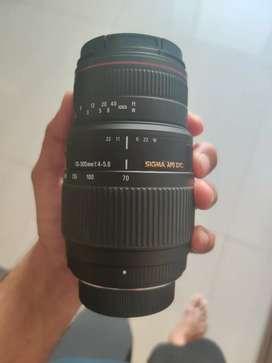 Sigma 70- 300mm AF