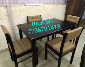 Ready Stock Clearance Offer On 4 Seater Dinning Set