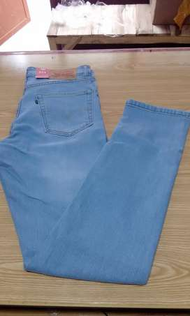 Levis light sky blue