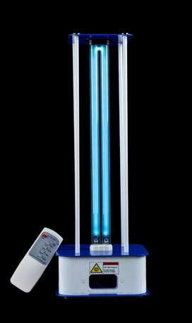 UV Disinfectant for Surface and Air cleaner.