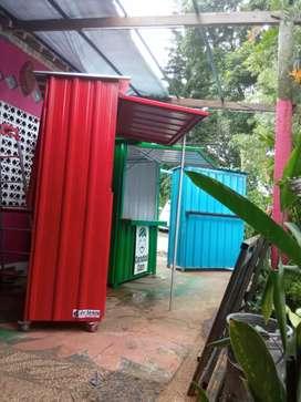 2021 PROMO MURAH Booth Gerobak Container Custom Yogyakarta 47