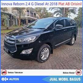 Innova Reborn 2.4 G Diesel At 2018 AB Tgn1 Orisinil Bisa Kredit