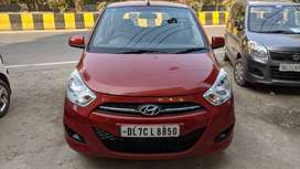 Hyundai I10 1.1 Magna, 2012 model with company fitted CNG & FASTag