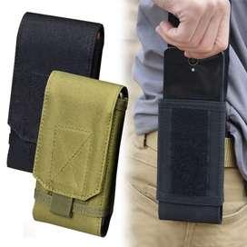 Sarung HP tas Pinggang HP handphone tactical untuk kopel TNI BRIMOB