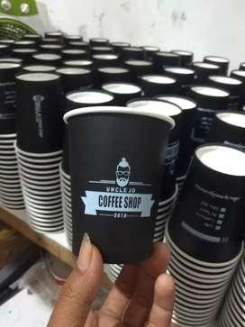 Sablon gelas cup plastik dan paper cup