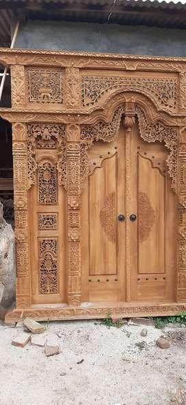 cuci gudang pintu gebyok gapuro jendela rumah masjid musholla sarkawi