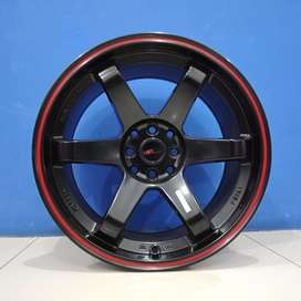 Cicilan 0% Velg Mobil Attivo, Xenia dll HSR Wheel R17 TOKYO OSHU
