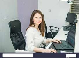 Female office Assistant required for office work