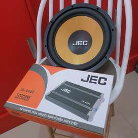 Power 4ch + Subwoofer 12 by JEC | Boy Audiophile
