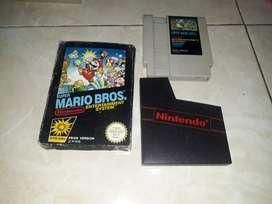 Kaset nintendo nes super mario,original box yang agak besar,langka