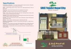 INDIVIDUAL HOUSE AT APARTMENT PRICE