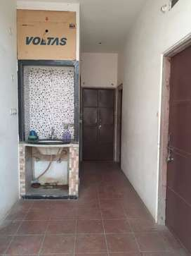 2 Rooms semi furnished 1 bathroom attached kitchen (3 Rooms optional)