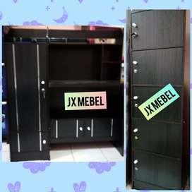 JX MEBEL# Meja Belajar Anak + Lemari Rak Baju Tas Buku Pekanbaru