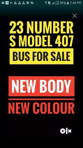 23 Number City Permit S Model Bus 407 For Sale New Body New Colour