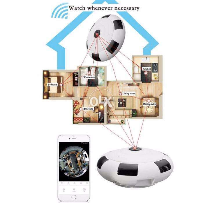 Ip Wirelss Panoramic Fish Camera V380 Free Delivery 0