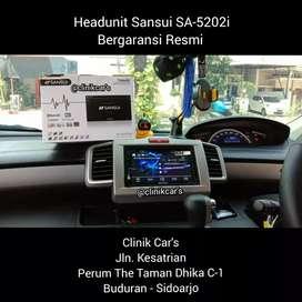 • headunit Sansui 5202i + kamera Free Pasang