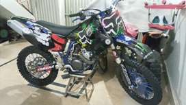 Yamaha YZ250F powerful Machine