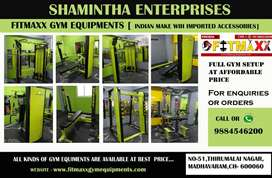 Fitness equipments and gym equipments available Offer price