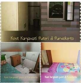 Kost khusus putri di pusat kota Purwokerto