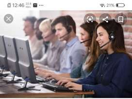 Telecallers jobs  male females candidates