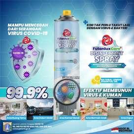 disinfectant spray 300ml hanya 140rb