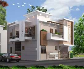 Fully furnished double story villa in aanand vihar