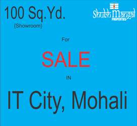 100 Gaj Showroom in IT CITY at best price on Airport Road, Mohali