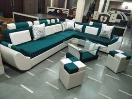 Price of 6 seater Sofa with table and 2 puffy Near Bapat Square