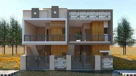 2 adjoining Houses for sale (112 Gaj each)