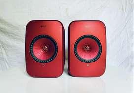 KEF LSX Wireless HiFi Active Bookshelf speakers