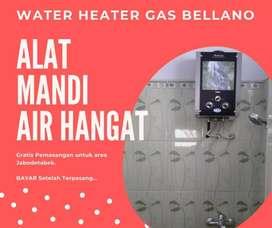 PROMO WATER HEATER GAS - PEMASANGAN GRATIS