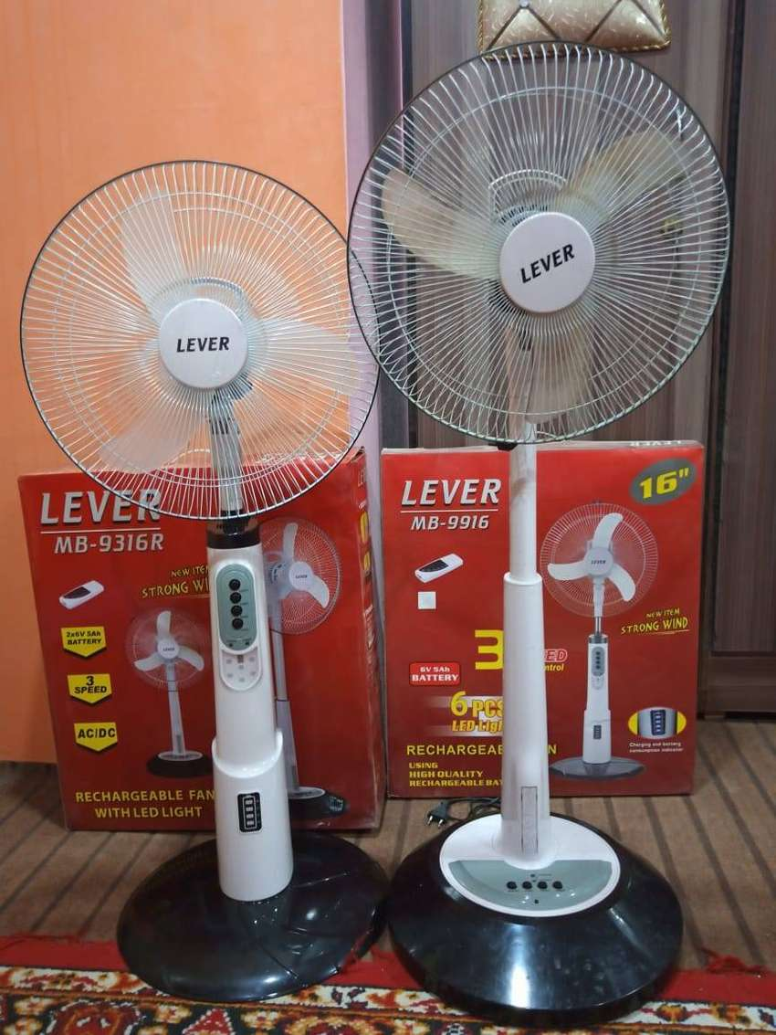 Free delivery Padestal charging fan brand new 0
