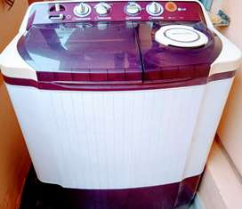 LG 7.2 kg Semi-Automatic Top Loading Washing Machine P8239R3SA(BG)