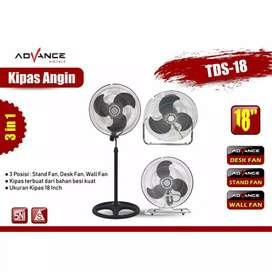 Advance TDS-18 Kipas Angin 18 Inch Fan Multifungsi 3 in 1