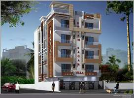 Newly constructed flat with all new designing